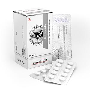 Buy Clenbuterol hydrochloride (Clen) at UK Online Store | Magnum Clen-40 Online