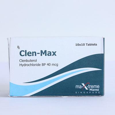 Buy Clenbuterol hydrochloride (Clen) at UK Online Store | Clen-Max Online