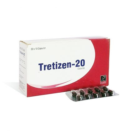 Buy Isotretinoin  (Accutane) at UK Online Store | Tretizen 20 Online