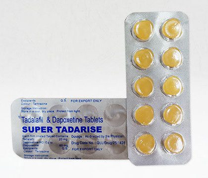 Buy Tadalafil at UK Online Store | Cialis with Dapoxetine 60mg Online