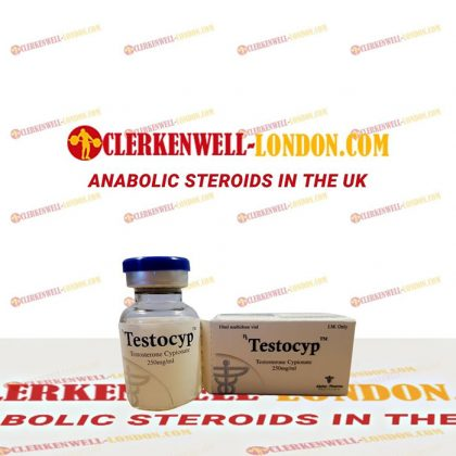 Testocyp vial in UK