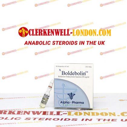 Boldebolin 250 mg 10 ampluis in UK
